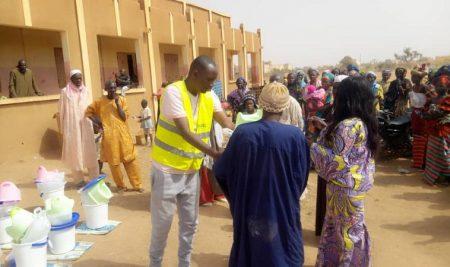 Mopti: IMADEL secourt les ménages déplacés en Wash